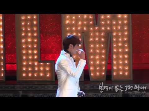 FANCAM 101029 Chansung Film Festival Knock the board cut