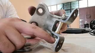 Como reparar las puertas caidas del tsuru, pernos, bujes, bisagras