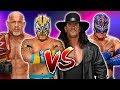 Goldberg   Kalisto vs  The Undertaker   Rey Mysterio   1080p 60fps