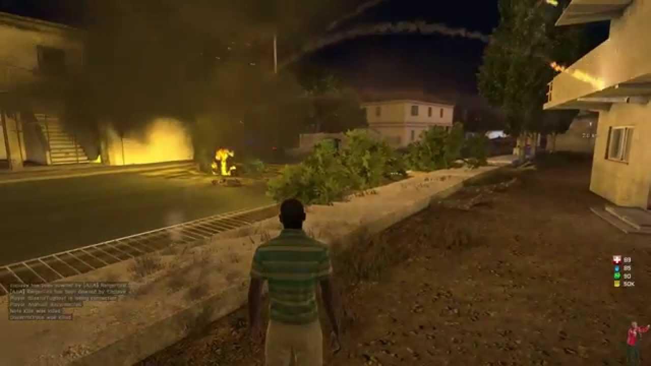 arma iii altis life asylum: definition of clusterf**k (5 explosions