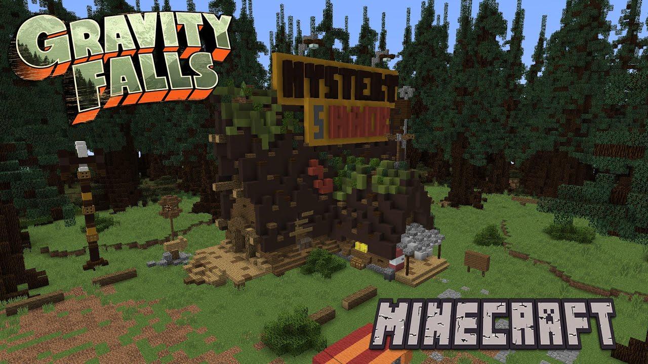 Mystery Shack Minecraft Tutorial [Gravity Falls]