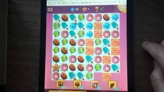 как пройти 611 уровень в игре долина сладостей