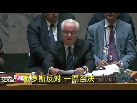 安理会投票现场罕见场面 弃权的除了中国还有谁 | 交叉点看