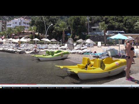 İçmeler Beach - Marmaris - Turkey 4K Ultra HD 2160p