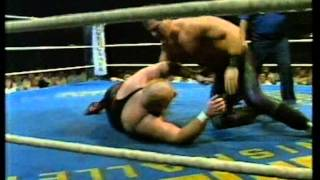CWA: Rambo vs. Bull Power, inkl. Interview mit Otto Wanz (ORF, ca. 1990)
