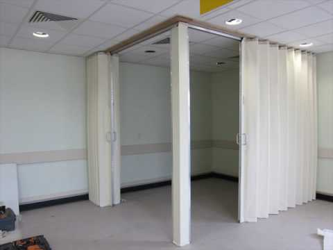 Folding Partition Walls For Home Designs Youtube