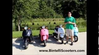 Bintelli Scooters - 49cc Breeze Motor Scooter Review. Dealers nationwide.