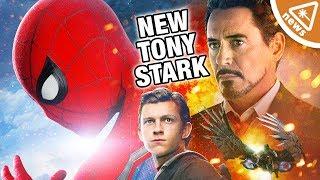 Is Spider-Man Set To Become the Next Tony Stark? (Nerdist News w/ Jessica Chobot)