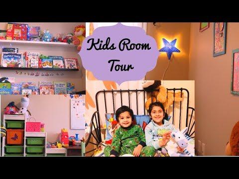 Room Tour - Kids Room Tour I Small Indian Kids Room organization & DIY Decor I Happy Home Happy Life