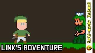 Link's Adventure • Super Mario World ROM Hack (SNES/Super Nintendo)