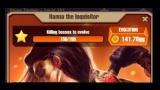 Juggernaut Champions - Level 160 - Hanna The Inquisitor Evolved