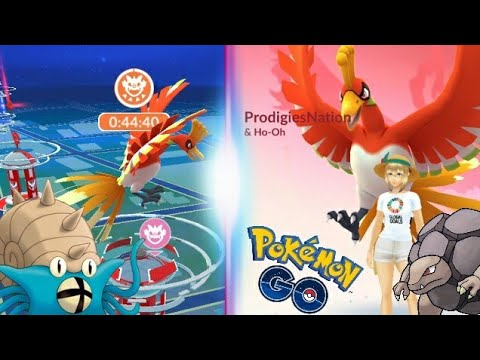 Download Youtube: HO-OH HYPE!! CAUGHT MY HIGHEST CP HO-OH - POKEMON GO
