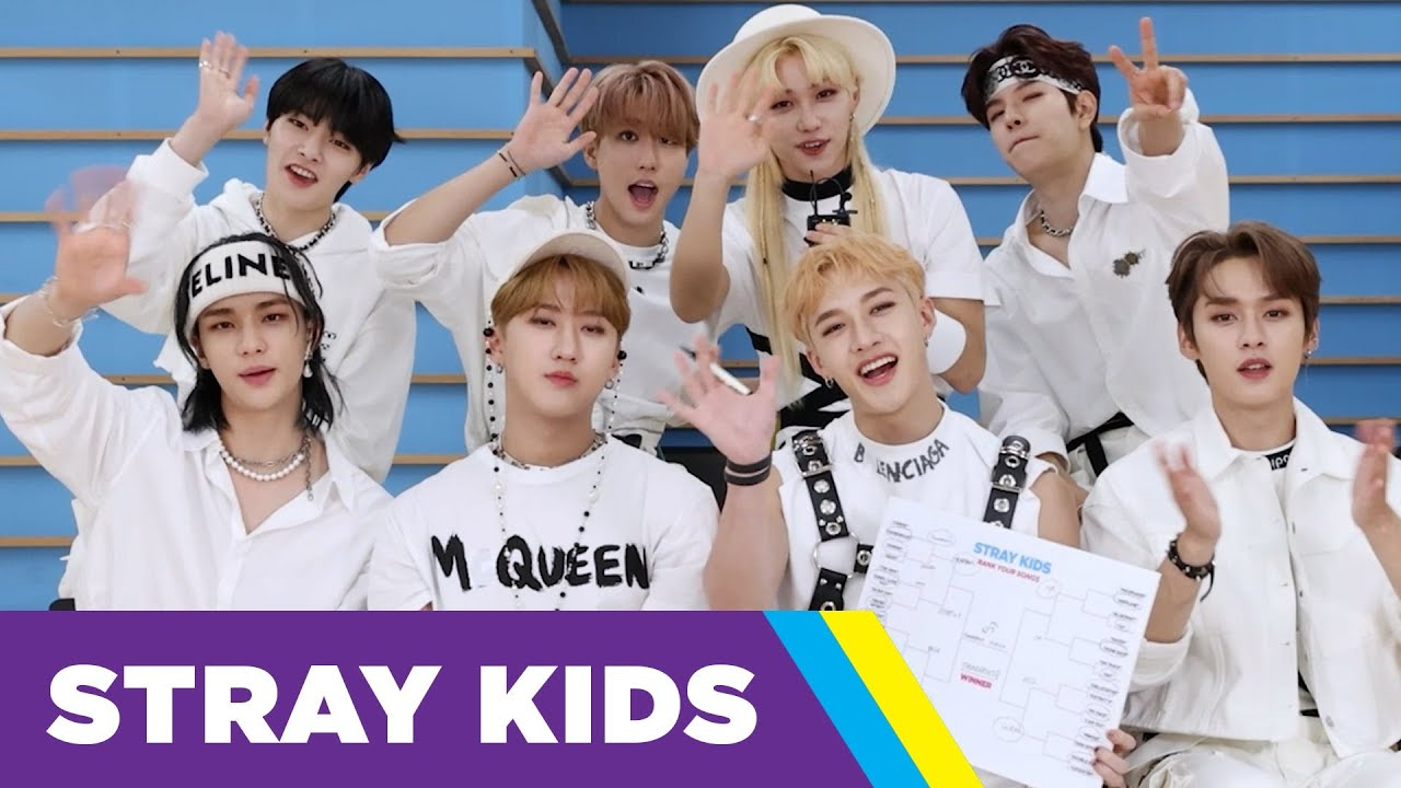 Download Stray Kids Ranks Their Songs