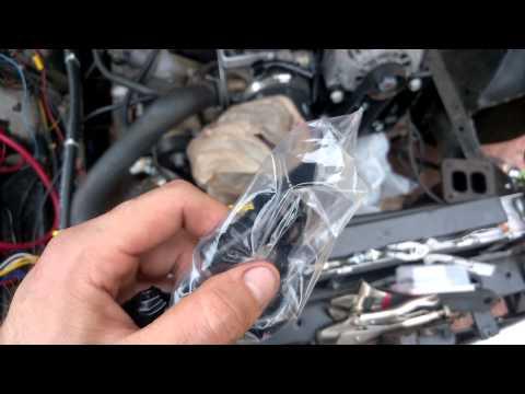 LSx Turbo Ford Fairmont Build Video #30 (Turbo Oil Feed Line)