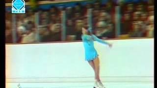 Elena Vodorezova - 1976 Olympics - Free Skate