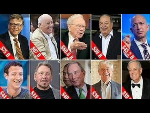 Top 15 Richest people of the World    By Technology Knowledge and Facts