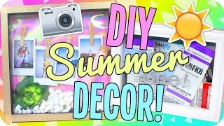 DIY Summer Room Decor! Easy & Fun!
