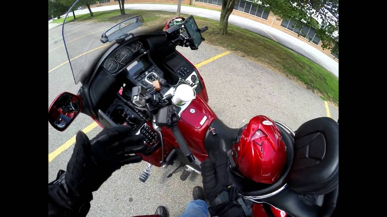 how to bluetooth a honda goldwing 5-pin din cable