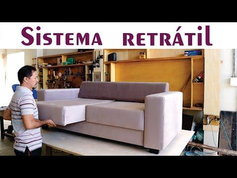 Vejam O Sistema Retrátil Deste Sofá/ Sofa With Retractable Seat