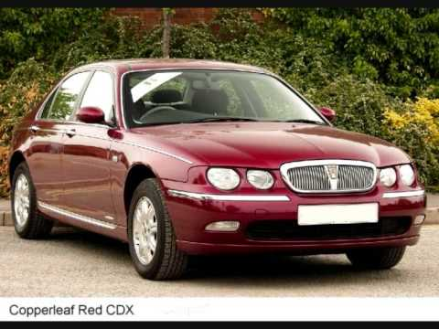 the many colours of the rover 75 images courtesy of reebs. Black Bedroom Furniture Sets. Home Design Ideas