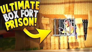 TRAPPING THE NEIGHBOR IN THE GREATEST BOX FORT PRISON EVER?! | Hello Neighbor Beta 3 Gameplay