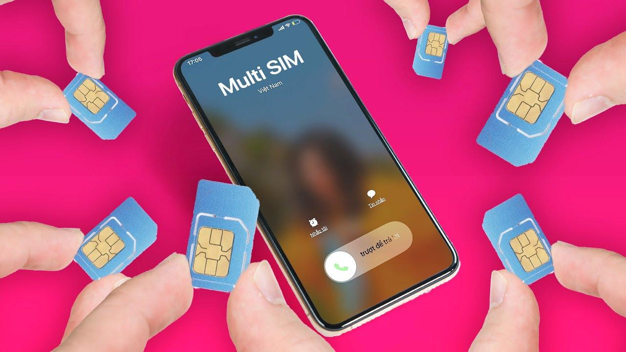Viettel Multisim: 1 sim lắp 4 điện thoại