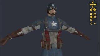 3D Model free - Capitão América: O Primeiro Vingador
