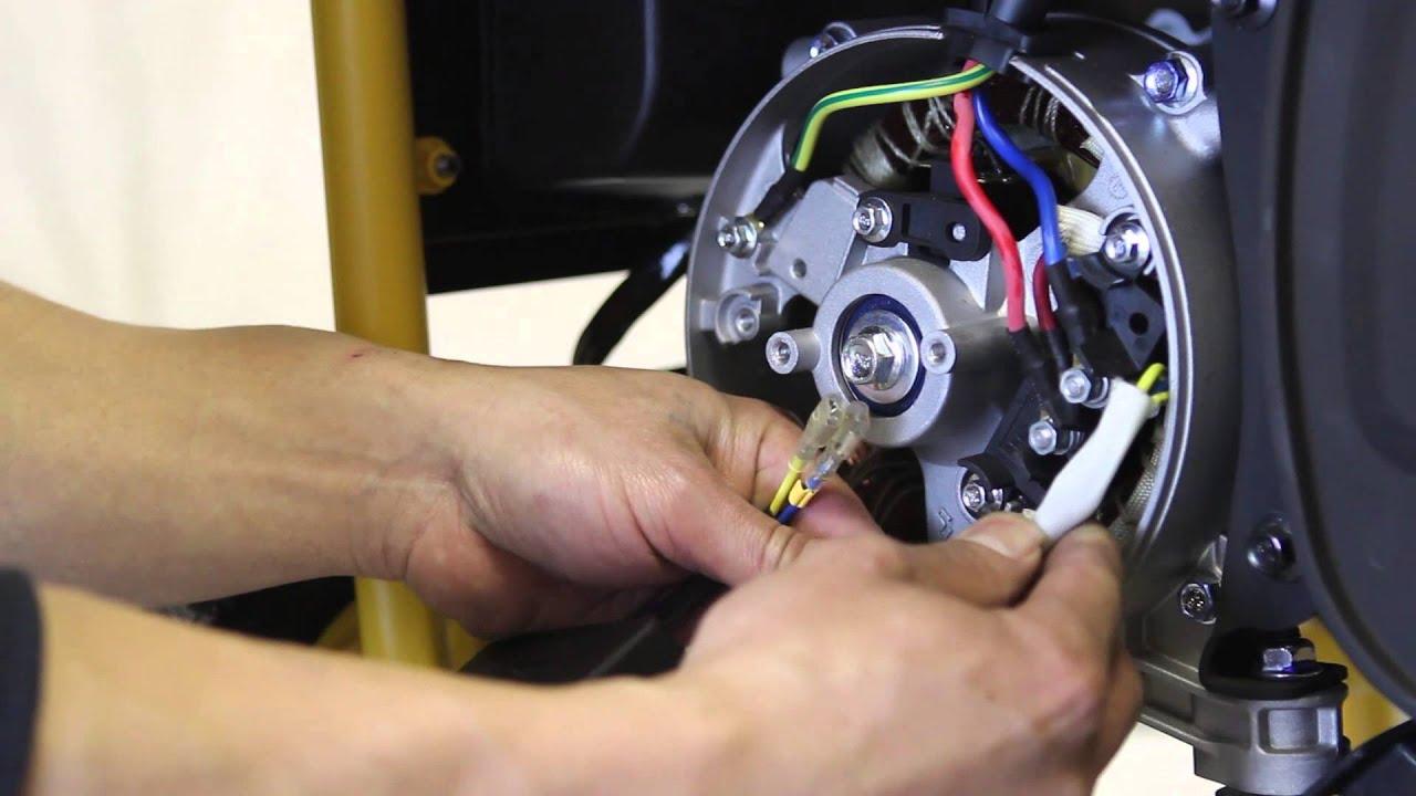 how to change your generator s voltage regulator avr  [ 1280 x 720 Pixel ]