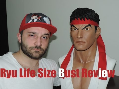 Ryu Life Size Bust Review (Pop Culture Shock)