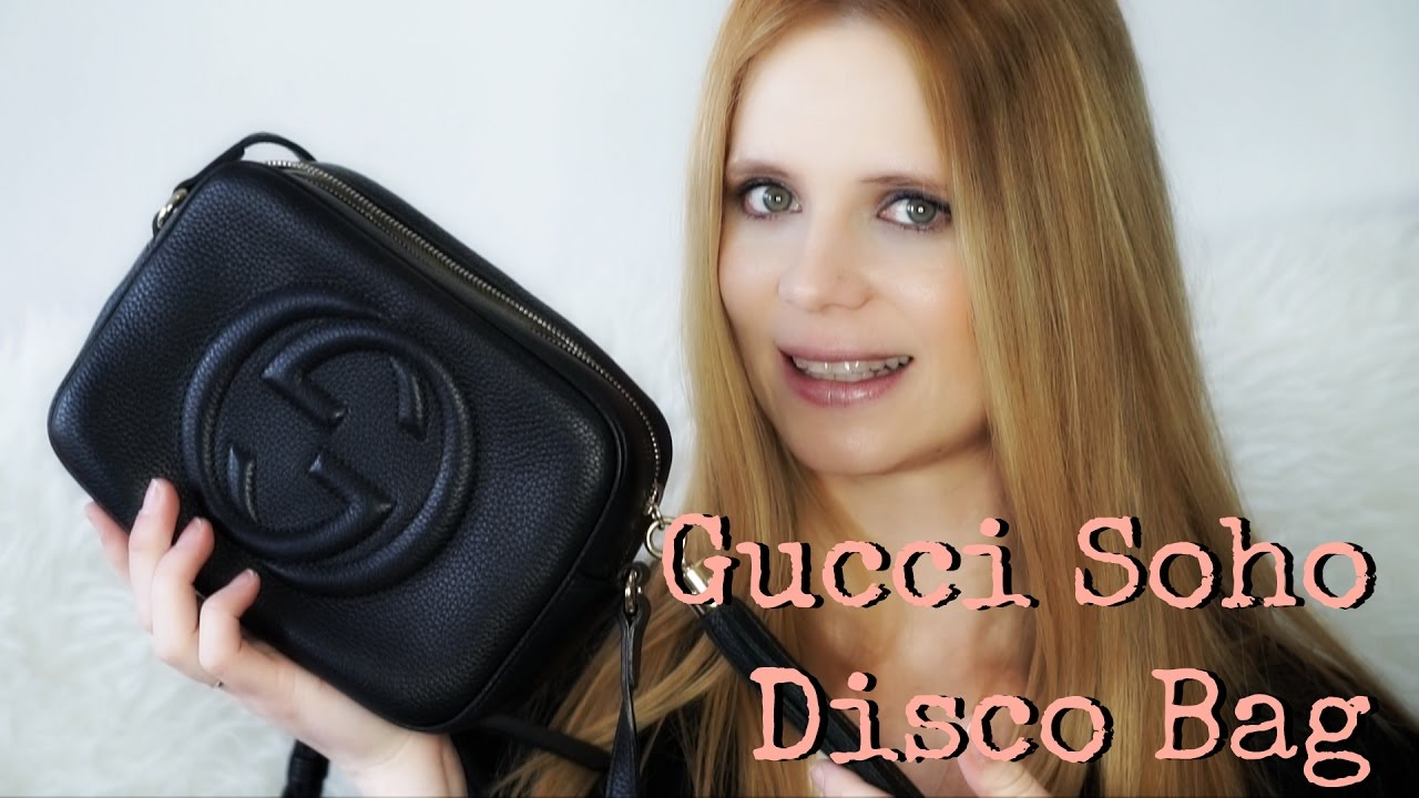 b7f798c71294 What's in My Gucci Soho Disco Bag + Review - YouTube