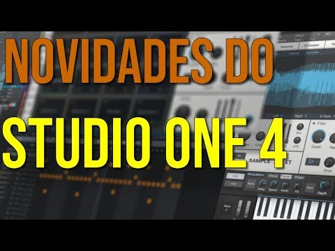 Novidades do Studio One 4