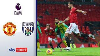 Bruno Fernandes wieder der Retter | Manchester United - West Bromwich Albion 1-0