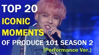 Video TOP 20 ICONIC MOMENTS OF PD101 S2 (Performance Ver.) download MP3, 3GP, MP4, WEBM, AVI, FLV Oktober 2017