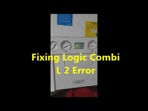 How to fix Ideal Logic Combi L 2 Error - YouTube
