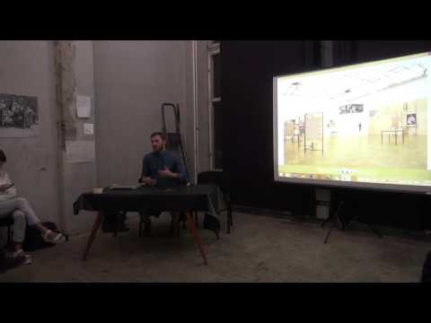 Presentation by Russian artist Arseniy Zhilyaev 09 10 2014