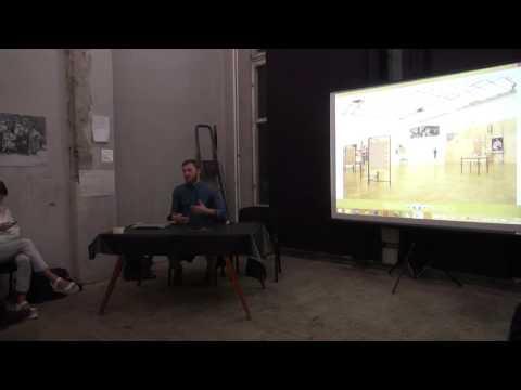 Presentation by Russian artist Arseniy Zhilyaev 09 10 2014
