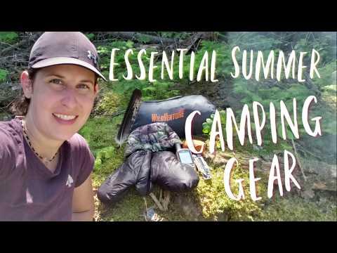 Essential Summer Camping Gear