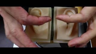 ASMR Lotion & Oil Ear Massage Ear Cleaning 耳の周りを耳かきその後マッサージ