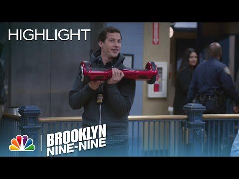 Jake Demonstrates The Future Of Movement   Season 3 Ep. 14   BROOKLYN NINE-NINE