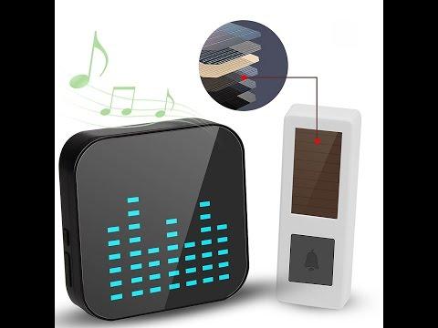 Solar Wireless Music Doorbell