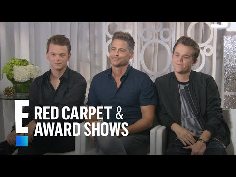 Rob Lowe & Sons Investigate Haunted Houses in New Series | E! Live from the Red Carpet