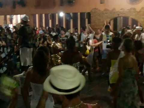 Samba Dance school at Curitiba, Brazil
