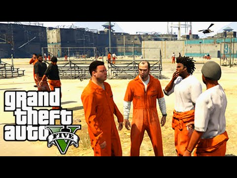 GTA 5 Mods - PRISON MOD #2 - Epic Prison Break & Riots! (GTA 5 PC Mods Gameplay)