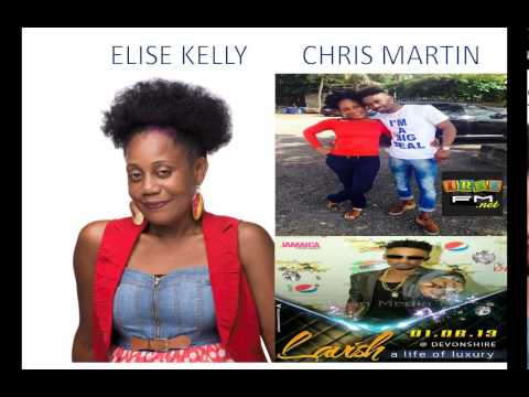Irie fm Elise Kelly Soul to Soul Interview with Christopher Martin