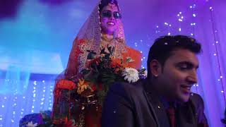 Bride and Groom entry | Abilina Wedding | Indian Wedding | Reception Entry