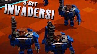 Epic Spce Marines vs ALIENS - 8-Bit Invaders Gameplay
