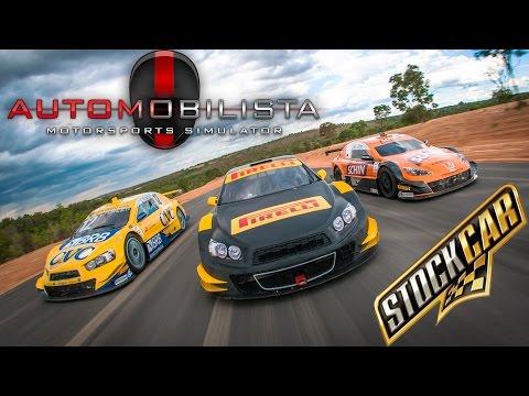 CORRENDO PELA PRIMEIRA VEZ NA STOCK CAR! GAME NOVO AUTOMOBILISTA MOTORSPORTS SIMULATOR | PT-BR |