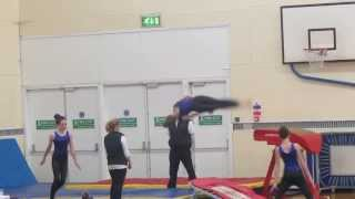 Majestic gymnastics-micro regional competition- trampette and vault