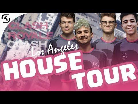 LA GAMING HOUSE TOUR | SK CLASH ROYALE