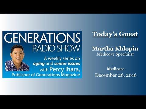 Generations Radio - Martha Khlopin 12-26-2015